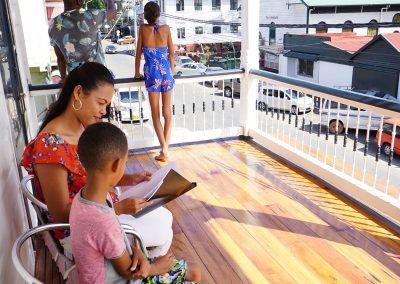 balkon-op de balkonsuite