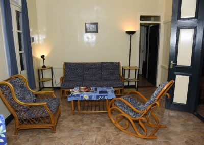 Balcony Suite Woonkamer