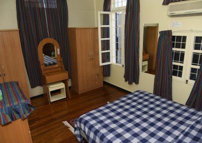 Double Suite- Begane grond; Slaapkamer