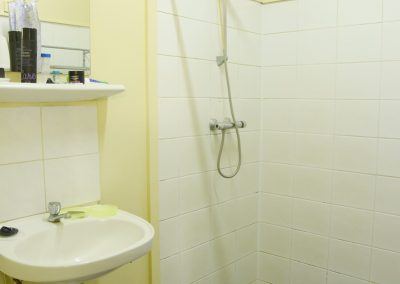 Double Suite-kleine trap Badkamer
