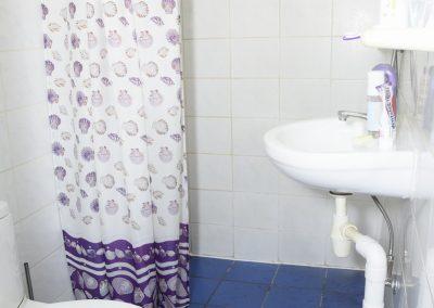 Single Suite met balkon- Bad,Toilet