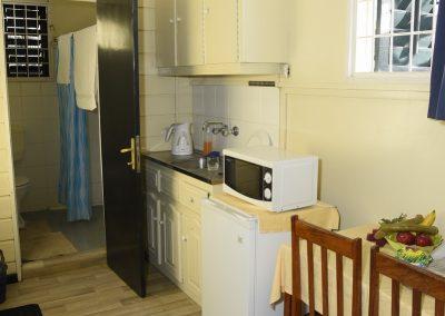 Single Suite zonder balkon Kitchenette; Bad Toilet