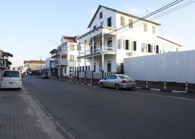 Wagenwegstraat; Voor gebouw rechterzijde